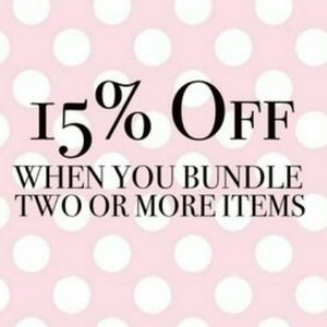 🎁 15% off when you bundle 2 or more items 🎁